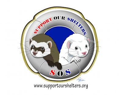 logo fro SOS - Support Our Shelters